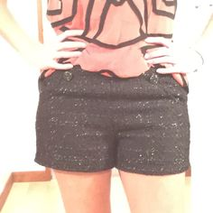 Jennifer Lopez dress shorts Worn once for family photos. Perfect condition! Jennifer Lopez Shorts
