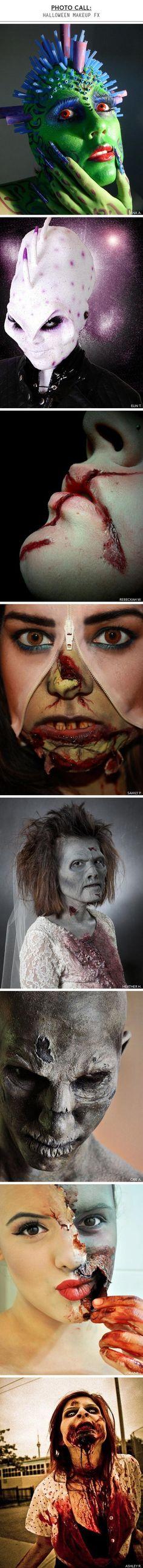 Halloween Makeup: Zombies y Otra Gente Encantadora