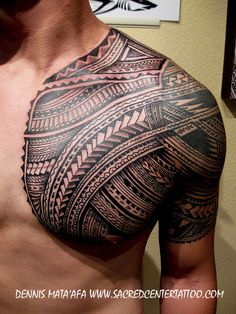 So attractive, men with tribal tattoos!