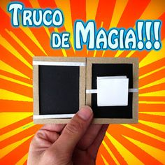 Como hacer un sorprendente truco de magia. Illusion, Magic Art, Magic Tricks, Science For Kids, Diy Toys, Magick, Positivity, Education, Montessori