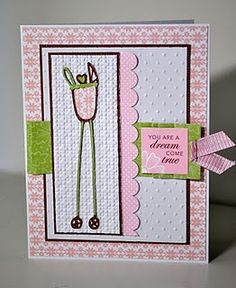 made with cricut stretch your imagination | card made with cricut cartridge (Stretch your Imagination)