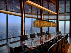 Whether you're looking out over a city's silhouette, the glittering coastline or acres of rolling countryside, check out some of the world's best restaurants with views.