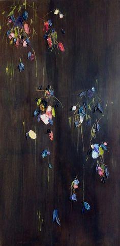 Blooms in Shadow - Johnny Taylor Laura Clark, Amy Stewart, Spring Art, Ikebana, Wabi Sabi, Fine Art Photography, Abstract Art, Original Art, Wax