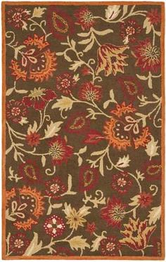 Safavieh Blossom Collection BLM861A Handmade Wool Area Runner, 2-Feet 3-Inch by 11-Feet, Brown and Multi #handmade Safavieh's Blossom Collection evokes the beauty of nature in its modern, floral patterns. These rugs bring modern elegance to any room in your home. These rugs are each handmade from 100% pure, premium wool, and employ modern hand-tufting techniques for added durability. These rugs feature intricate, floral designs and fresh, modern colors. Each rug has a dense, soft pil..