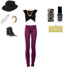 Stand out of the crowd even on a casual day with this purple look. Find ideas on what to wear for upcoming events and style people online on Wishi. Join us at www.wishi.me, it's free and takes sec to connect via Facebook.
