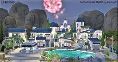 The Sims 4 Mody: Park Santorini  NOCC od TanitasSims