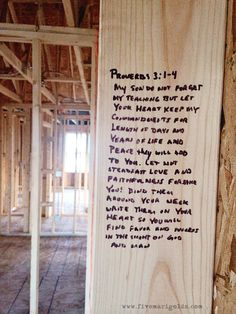 Bible Verses for a new home. Dedicate your home with scripture.