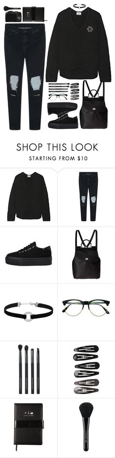 """""""Untitled #1350"""" by timeak ❤ liked on Polyvore featuring Acne Studios, Dolce&Gabbana, Miss Selfridge, Retrò, Japonesque, Lanvin, Clips, CO and MAC Cosmetics"""