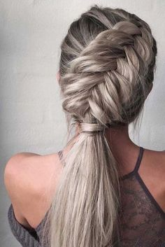 Easy, Stylish Braided Hairstyles for Long Hair , Inspired Creative Braided Hairs. - Easy, Stylish Braided Hairstyles for Long Hair , Inspired Creative Braided Hairstyle - Easy Braided Hairstyles For Long, Cool Braid Hairstyles, Straight Hairstyles, Long Haircuts, Hairstyle Braid, Hairstyles Haircuts, Hairstyle Ideas, Wedding Hairstyles, Gorgeous Hairstyles