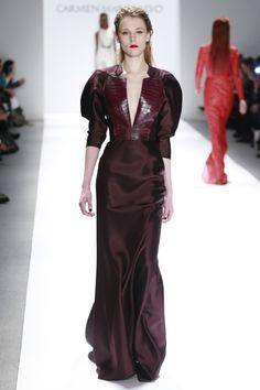 Carmen Marc Valvo  NY Fashion week Fall 13