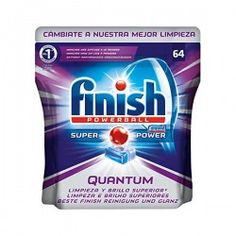 Finish Quantum Dishwasher Tabs 64 Units (Pack of Power Gel, Car Wash Mitt, Dishwasher Tabs, Post Bank, Electric Juicer, Window Cleaner, Cleaning Kit, Enough Is Enough, Super Powers