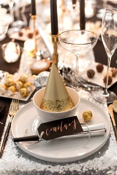Dec 29 2019 - New Year's Eve Dinner Party with Lindt Chocolate New Years Wedding, New Years Eve Weddings, New Years Party, New Years Eve Games, New Years Eve Dinner, Happy New Year Banner, New Year Table, New Years Eve Decorations, Nye Party