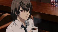 Coffee Manga Anime Art - My Virtual Coffee House Persona Five, Persona 5 Anime, Manga Art, Manga Anime, Anime Art, Coffee Gif, Coffee Quotes, Goro Akechi, Iphone Wallpaper Quotes Love
