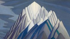 Mountain Forms, an iconic 1926 Rocky Mountain canvas by Group of Seven founder Lawren Harris, will be sold by Heffel Fine Art Auction House on Nov. 23, 2016. The work was recently part of The Idea of North, Steve Martin's show celebrating the art of Lawre