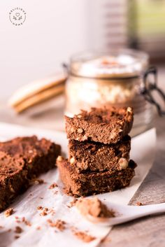 brownies sin gluten @delicioushomemx