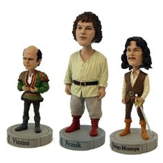 Princess Bride bobbleheads.