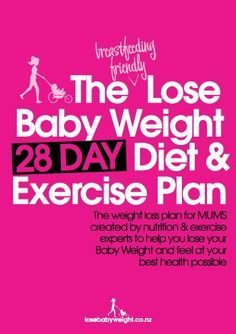 Our 101 guide to effective pregnancy weight loss combining a healthy eating plan and weight loss exercise specifically designed for the time poor and tired mom.  Is safe for the mom who wants to combine breast feeding and weight loss www.losebabyweigh...