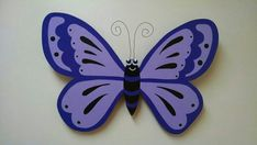 Butterfly wooden door hanger wall art. by JRMWoodworking on Etsy
