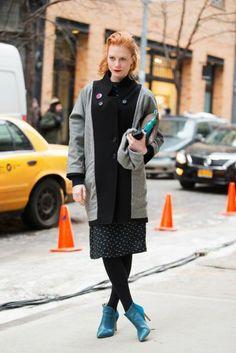 Street Style- New York Fashion Week Fall 2014