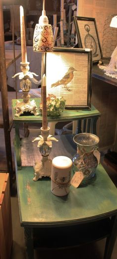 Queen Bee French Flea Market Highlights - Old Things New