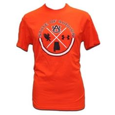 940ac28ae77 Tshirt ua state of auburn circle au interlock state eagle logo 60 40  charged cotton tee