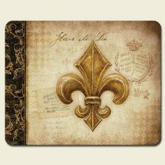 Vintage Lily of the Valley Fleur De Lis 10 x 8-inch Tempered Glass Cutting Board by Highland Graphics, Inc.. $21.97. Small Cutting Board is Constructed of Durable Tempered Glass. Has protective clear rubber feet on bottom. Hygienic and easy to clean.. Measures approximate 10 inches W x 8 inches H. Heat resistant and safe on knives.. A smaller version of the popular large cutting board, this size is great for parties and entertaining. Plus, it's size makes it easy to stow away.