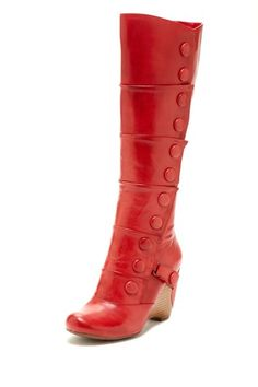 Siri Button-Up Wedge Boot.. I want I want!!
