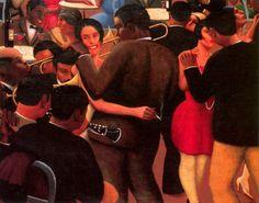 Blues, 1929. Archibald Motley.