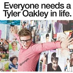 Yes. Or just Tyler Oakley himself lol YouTube ❤ liked on Polyvore featuring youtube, people and pictures