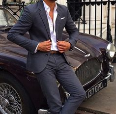Is it the suit, or the car?