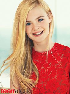 don't overthink it. Elle Fanning in Teen Vogue (Feb 2012)