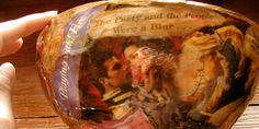"""Decoupage is all about finding papers printed with images you like. Read http://weddings.gatheringguide.com/ac/diy-wedding-tips/diy-decoupage-will-save-your-wedding- Photo by Murals Without Borders, with the article """"DIY Decoupage Will Save Your Wedding"""". #decoupage #diy #craft #howto #decorations #party #wedding #bowl"""