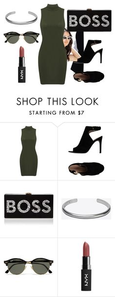 """""""Boss!"""" by just-lea on Polyvore featuring Tory Burch, Milly, Maison Margiela, Ray-Ban, pretty, women and 2016"""
