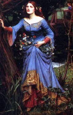 Ophelia by Waterhouse