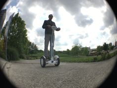 see #Airwheel S3 two wheel #scooter with different perspective