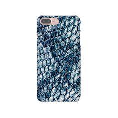 iPhone 6 6s 7 Plus Slim Snap Case Snake Skin Texture Animal Blue iPhone SE Samsung Galaxy S6 S7 Edge Samsung Mobile, Snakes, Galaxies, Iphone 6, Phone Cases, Texture, Prints, Etsy, Design