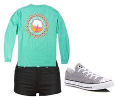 """Untitled #27"" by awesthoff0513 on Polyvore featuring Converse"