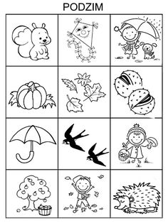 Indoor Activities For Kids, Autumn Activities, Fall Games, Autumn Crafts, Fall Projects, Autumn Theme, Coloring For Kids, Colouring Pages, Holidays And Events
