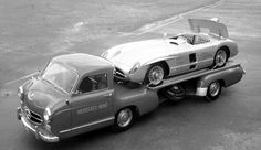 There was a time when the vehicles that tugged, towed, and carted racecars to the track were often as interesting as the racecars themselves. Let's take a look back. First, a story. Years ag...