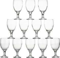 Set of 12 Party Goblets  | Crate and Barrel