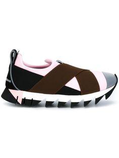 Dolce & Gabbana Slip-On-Sneakers mit Stretchriemen