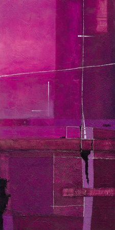 My Purple Views II by Ewald Kuch