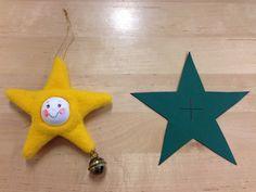 Jouluaskarteluja - www.opeope.fi Teaching Kids, Felt, Christmas Ornaments, Holiday Decor, Crafts, Christmas, Felting, Manualidades, Christmas Jewelry
