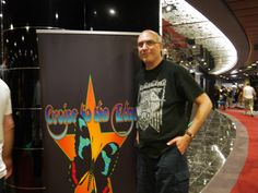 Don and I sailed on the CRUISE TO THE EDGE 2014 on the MSC Divina.  Saw bands Yes, Stickmen, Steve Hackett, Strawbs, Tangerine Dream, Renaissance and more!