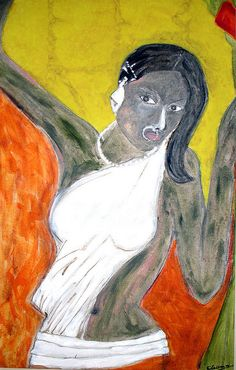 Paintings of Indian artist Narayanan Ramachandran     If you want these stunning pictures as your Google Homepage you can for Free at http://chrome-theme.org