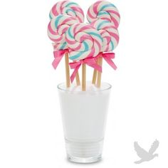 Bubble Gum Mini Swirl Lollipop 1 oz. BULK (24 Count = $1.65/Lollipop)