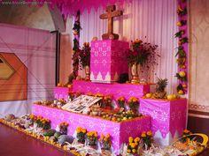hermoso Altar de muertos