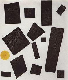 Suprematism  - Kazimir Malevich 1915