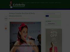 Celebrity Bra Size and Body Measurements