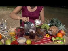 Shoshanna's Kitchen - Episode 9 - Eye Health Smoothie - Use canned coconut milk instead of yogurt